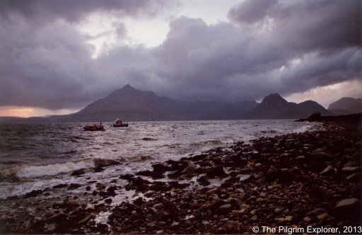 A photo of the Cullins on the Isle of Skye to illustrate: Are you willing to give up the summit and turn back if the conditions aren't right?