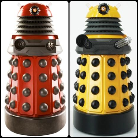Red Dalek, Yellow, Dalek: Articulate, Articulate, Articulate!