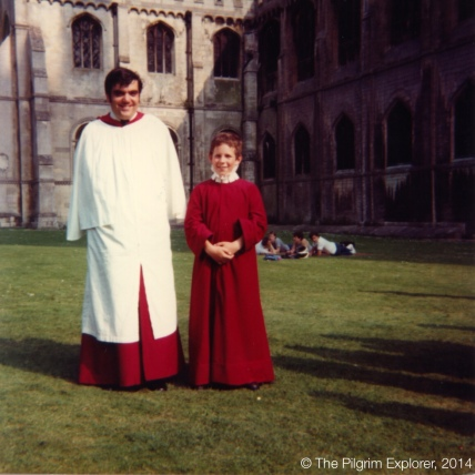 That was the time but the time is now: Ely now is my BAP, Ely then was with singing in Mr Swallow's choir.